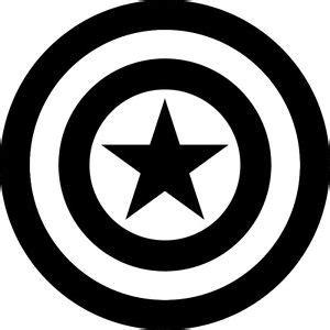 captain america shield vinyl decal superhero | ebay