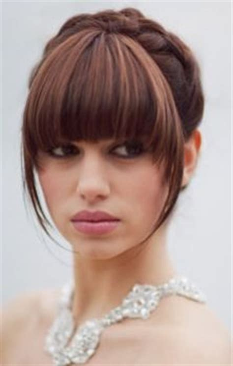 1000+ images about wedding hair on pinterest   updo, bangs