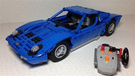 Lego Technic Lamborghini by Lego Technic Lamborghini Miura Rc With