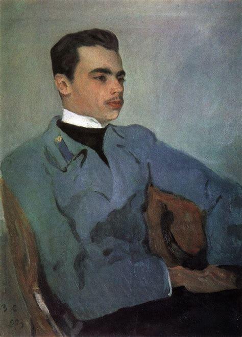 valentin serov portrait of count nikolay sumarokov elstone 1903
