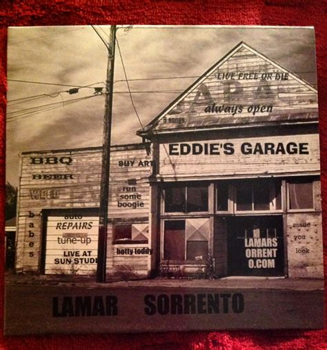 Cd Garage by Guitar Boogie Shuffle Lamar Sorrento