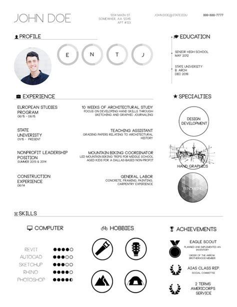 The Top Architecture Résumé/CV Designs   ArchDaily