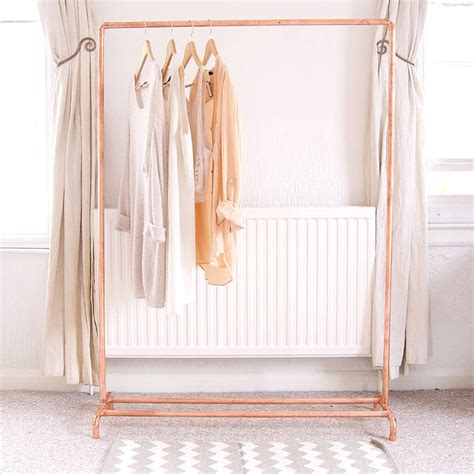 Kids Clothing Storage copper pipe clothing rail by little deer