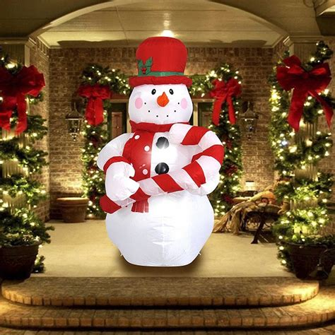 amazoncom snowman christmas top 12 outdoor decorations 2019 absolute