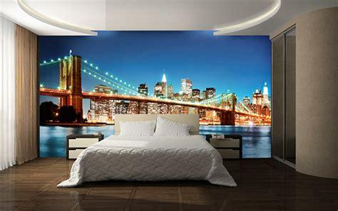 Brooklyn Bridge Wall Mural new york east river poster mural acheter le sur