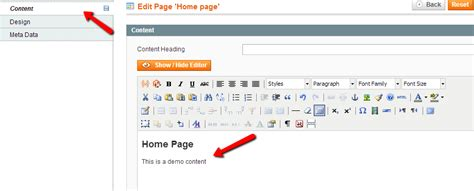Magento Home Page Design Tutorial by How To Use Mangeto Cms Magento Tutorial Fastcomet