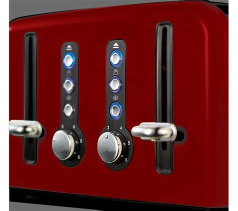 Red Russell Hobbs Toaster Buy Russell Hobbs Windsor 22831 4 Slice Toaster Red