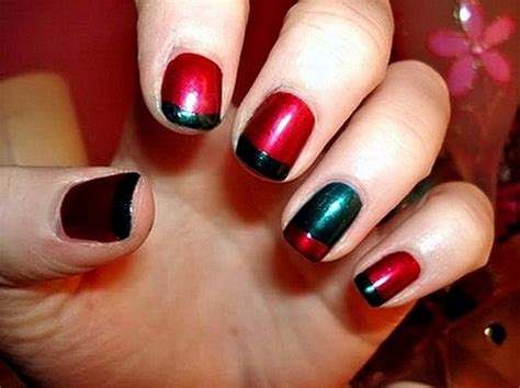 easy nail art with two colours cute and easy nail designs for short nails another heaven
