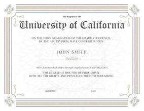 doctorate degree certificate template 11 free printable degree certificates templates