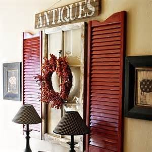 Decorating Ideas For Shutters Just For You Baby Antiques Vintage Attic Antiques