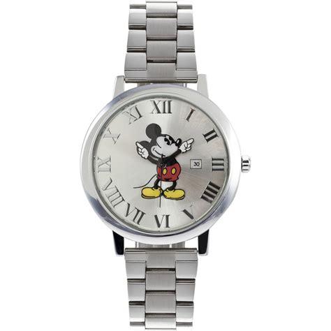 disney 26130 presentation mickey mouse steel bracelet