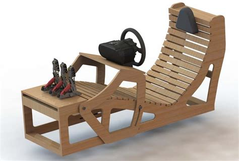 racing simulator chair plans diy playseat plans diy projects ideas