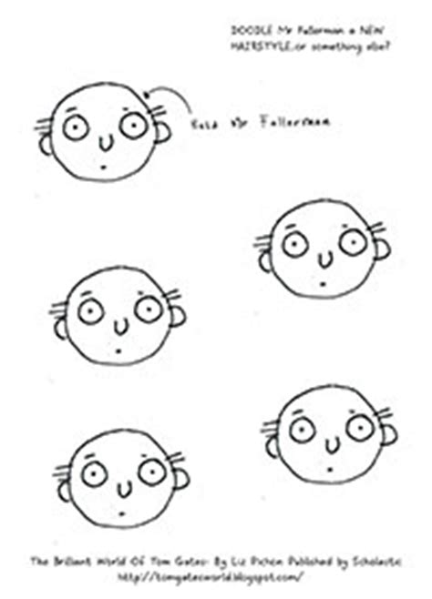 how to draw a tom gates doodles scholastic canada tom gates
