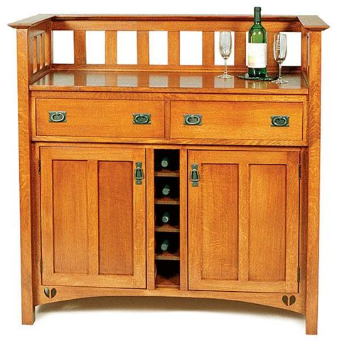 mission style liquor cabinet arts and crafts wine cabinet reader s gallery fine
