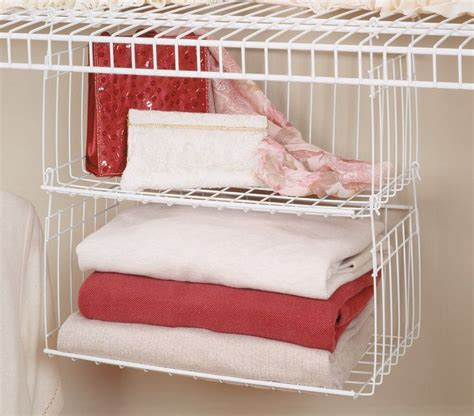 Closetmaid Hanging Drawers Closetmaid 6222 Hanging Basket For Wire