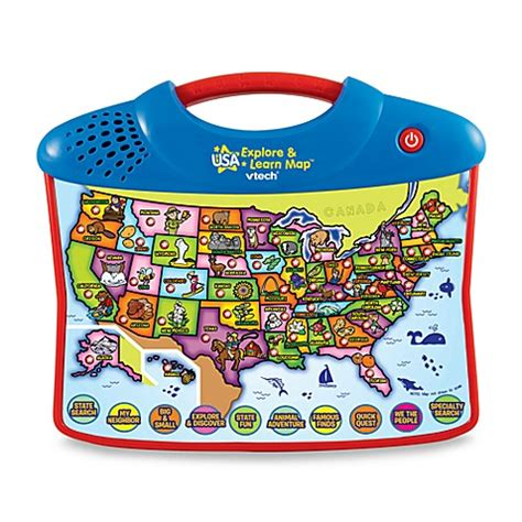 vtech usa explore and learn map vtech 174 usa explore learn map buybuy baby