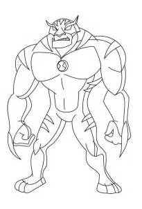 cartoon network ben 10 alien force coloring pages