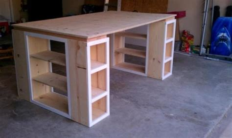 craft bench plans diy modern craft table home design garden