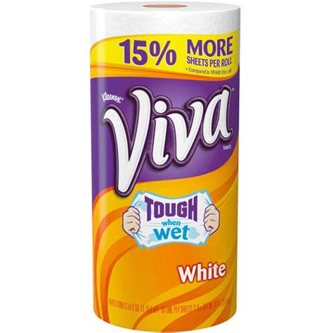 Who Makes Viva Paper Towels - clark corp 28786 viva paper towel big roll 1pk