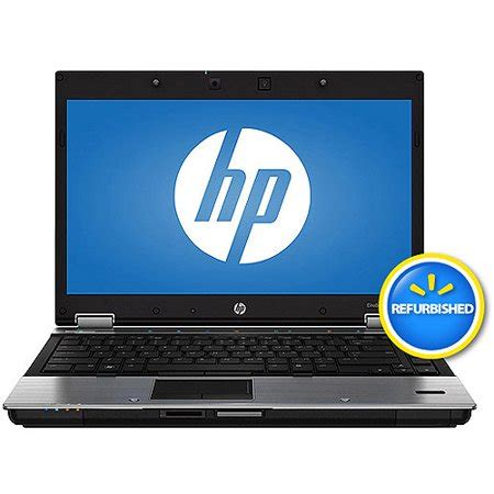 hp elitebook laptop, 8440p , refurbished black walmart.com