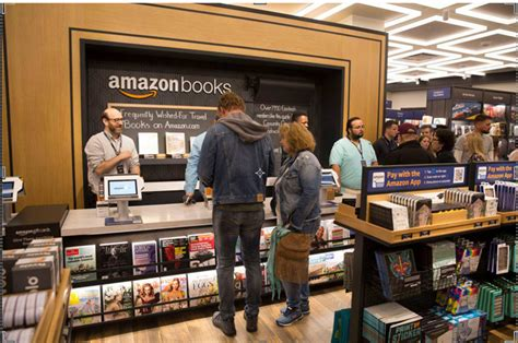 amazon new books brandchannel amazon books opens in new york its first of