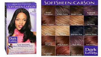 and lovely hair dye colors softsheen carson n lovely permanent hair color
