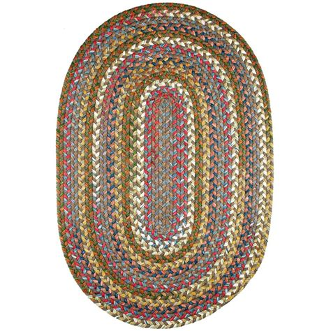 8 foot braided rugs rhody rug bouquet bronze 8 ft x 11 ft oval indoor outdoor braided area rug bq35r096x132 the