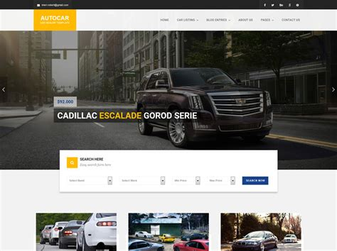 home design website templates free 70 best car auto website templates free premium