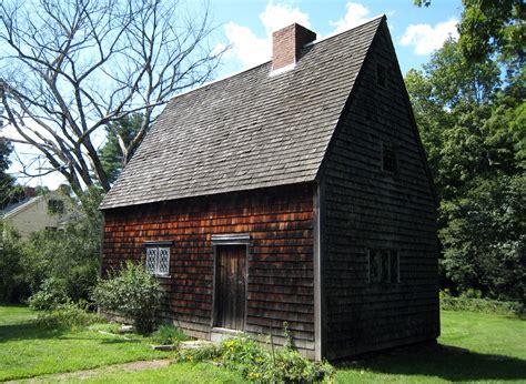 Saltbox Architecture peak house medfield historical society