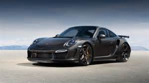 Turbo Porsche 911 Hd Background Porsche 911 Turbo Gt3 Black Wallpaper