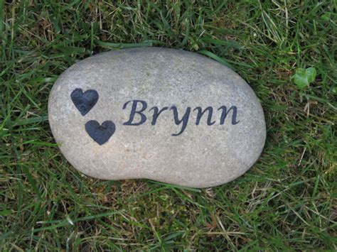 Pet Memorial Garden Stones by Personalized Pet Memorial Garden Grave Marker 7 8 Inches