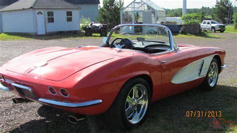 1961 chevrolet corvette custom convertible ls3 engine 460 h p