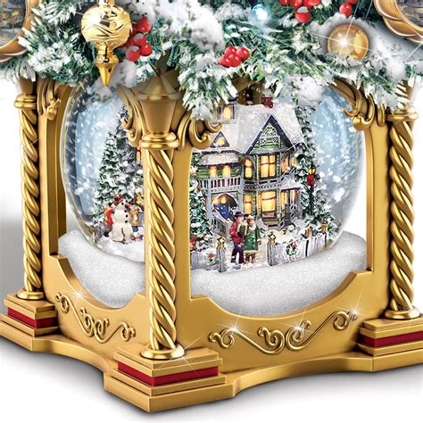 thomas kinkade illuminated tree skirt 100 kinkade tabletop tree decorating table collection kinkade