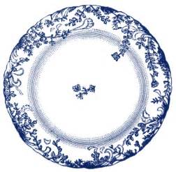 Art Plates by Vintage Clip Art Antique China Plate 4 Options The