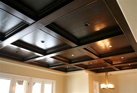 Wooden Ceiling Design Coffered Wood Ceiling Evstudio Architect Engineer