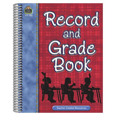 record book record grade book tcr3360 171 products created