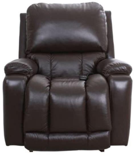 la z boy leather rocker recliner la z boy greyson 100 leather power rocker recliner w hw
