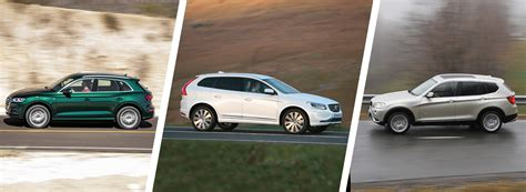 Bmw X3 Vs Audi Q5 by Audi Q5 Vs Volvo Xc60 Vs Bmw X3 Suv Comparison Carwow