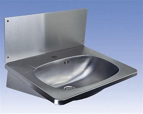 edelstahl waschtisch slun 02 edelstahl waschtisch f 252 r wandmontage mit