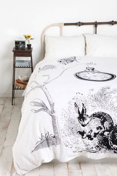 bunny rabbit twin sheet set white rabbit duvet for those who all things aliceinwonderland bedroom