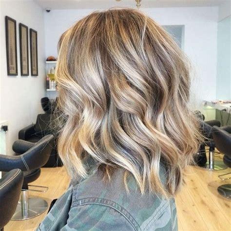25 best ideas about shoulder length balayage on pinterest pictures medium length blonde hair colors black