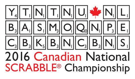 2016 Canadian National Scrabble Chionship