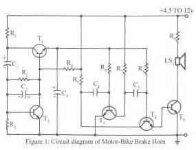Regenerative Braking System Project Pdf Circuit Diagram Of Motor Bike Brake Horn Electronics Project
