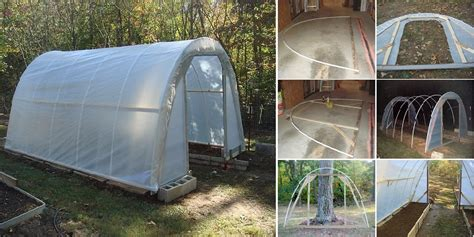 how to make a green house easily build your own greenhouse for just 50 all created