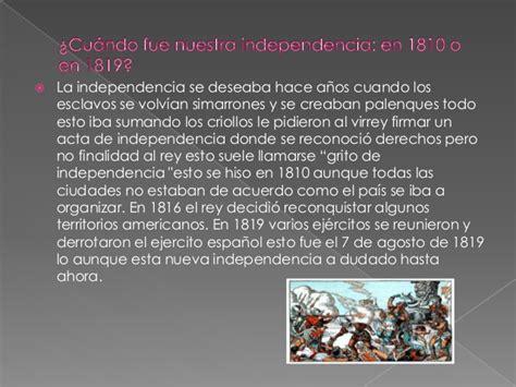 Resume Colombia by Historia De Colombia Resumen