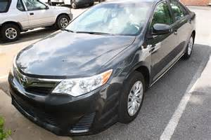 Tire Size For 2012 Toyota Camry 2012 Toyota Camry Le Diminished Value Car Appraisal