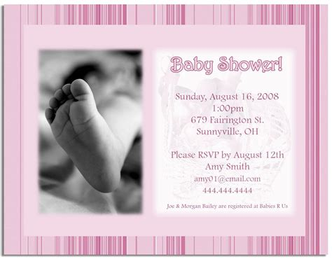 baby shower invitations with photo template 301 moved permanently