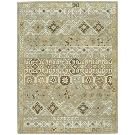 capel rugs home capel smyrna afghan buff 5 ft x 8 ft area rug 3155rs05000800700 the home depot