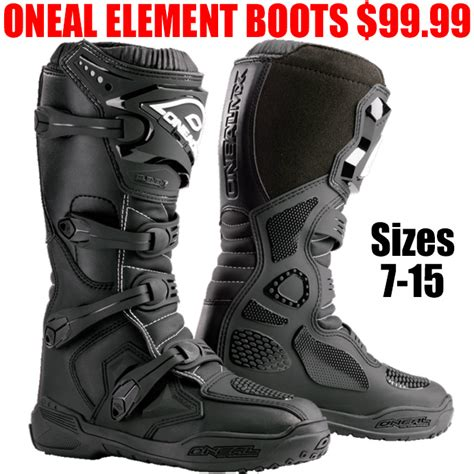 Oneal Element Boots oneal mx element boots pro style mx