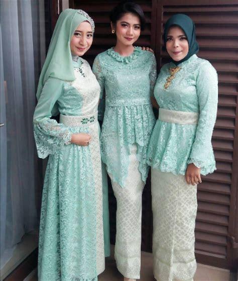 Kebaya Muslim Untuk Perpisahan Sekolah model jilbab untuk kebaya perpisahan sekolah trend kebaya terkini model encim untuk wisuda